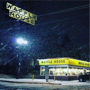 Waffle House in Atlanta snow