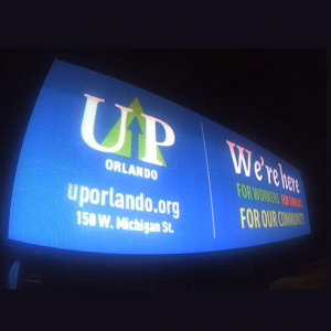 UP Orlando Billboard